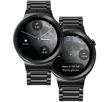 Lunescope watch face on Wear OS
